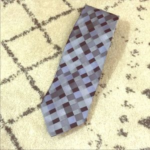 Long Pronto Uomo 100% silk tie